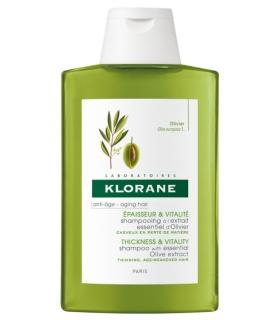 Klorane Champú Antiedad al Extracto de Olivo 400ml