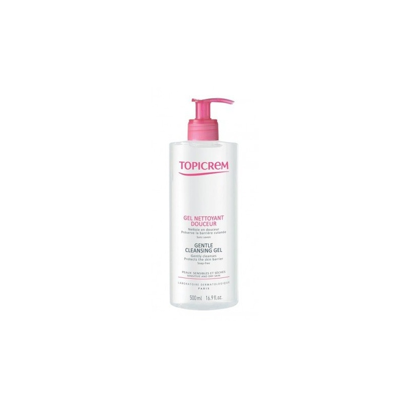 Topicrem Gel Limpiador Suave 500ml