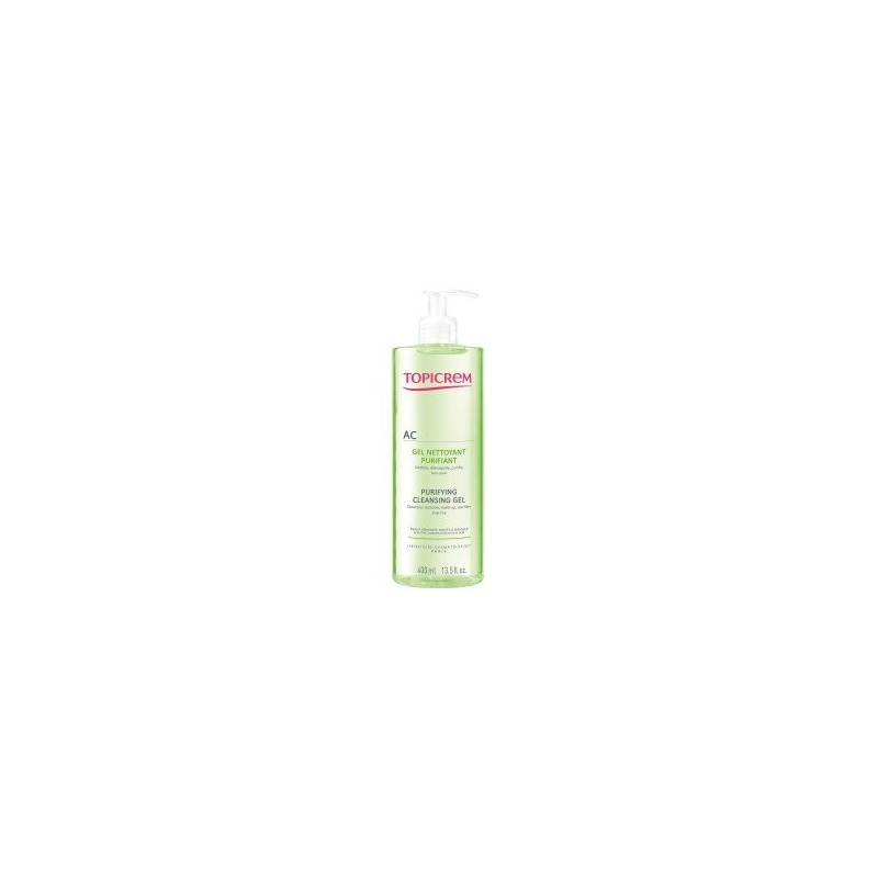 Topicrem AC Gel Limpiador Purificante 400ml