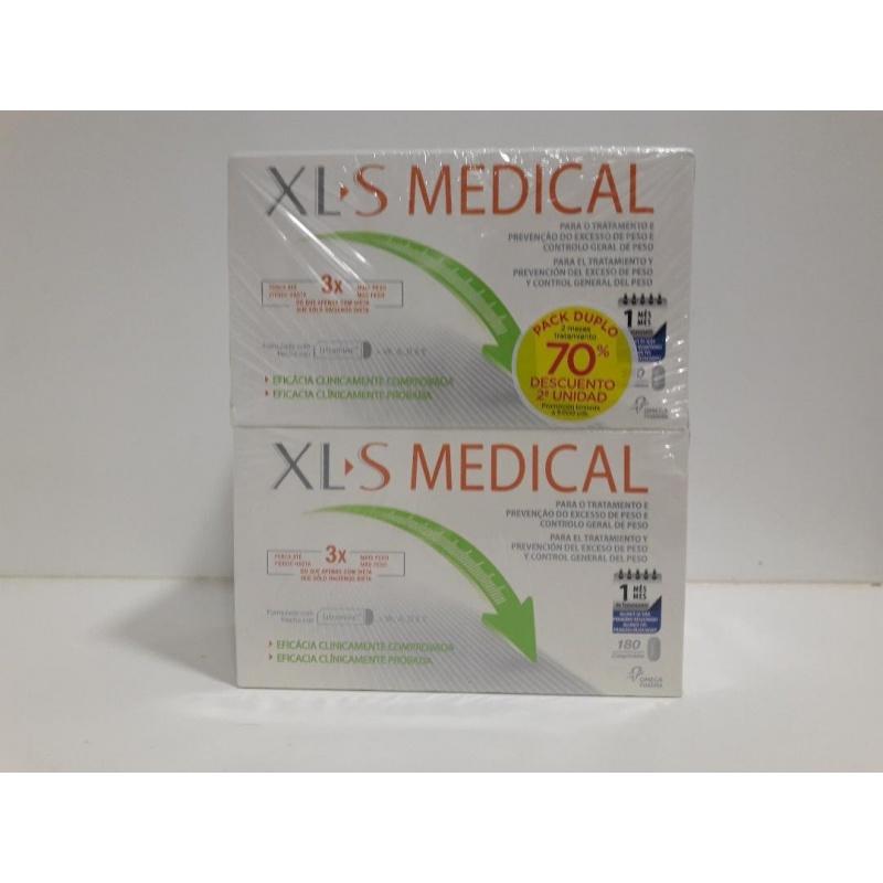 XL-S Medical Captagrasas 180 comprimidos