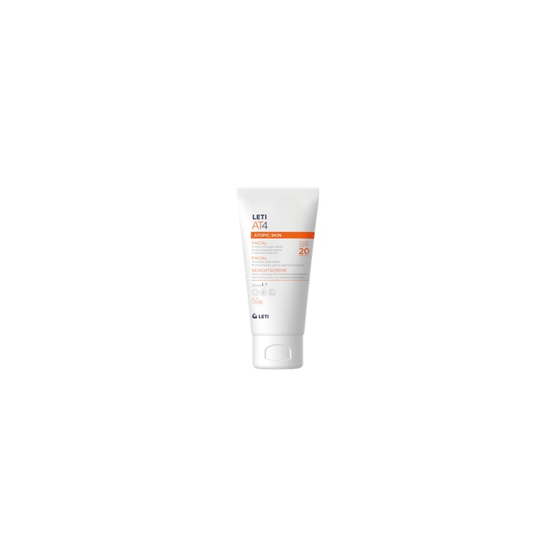 Leti AT4 Crema Facial SPF 20, 50ml