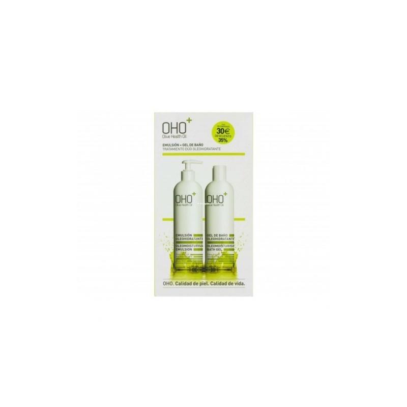 OHO Pack Emulsion 380ml + Gel Baño 400ml