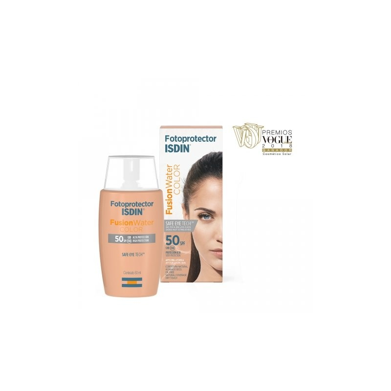 Fotoprotector Isdin Fusion Water Color SPF50+ 50ml