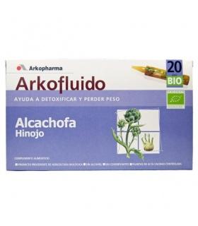 Arkofluído Alcachofa Hinojo 20 ampollas 15ml