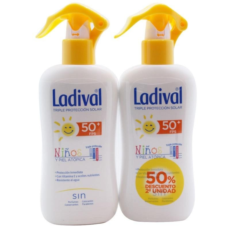 Ladival Loción Niños Spray 50 200ml + After Sun 200ml