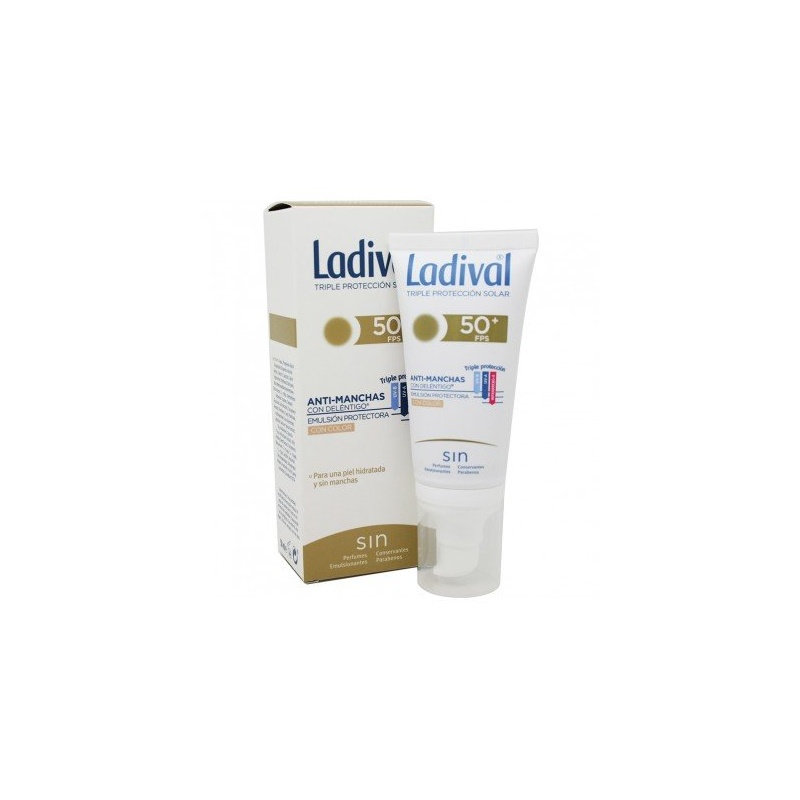 Ladival Antimanchas Emulsión Color con Deléntigo FPS50+ 50ml