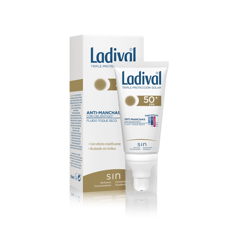 Ladival Antimanchas Deléntigo FPS50+ Toque Seco 50ml
