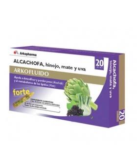 Arkofluído Alcachofa Forte 20 ampollas