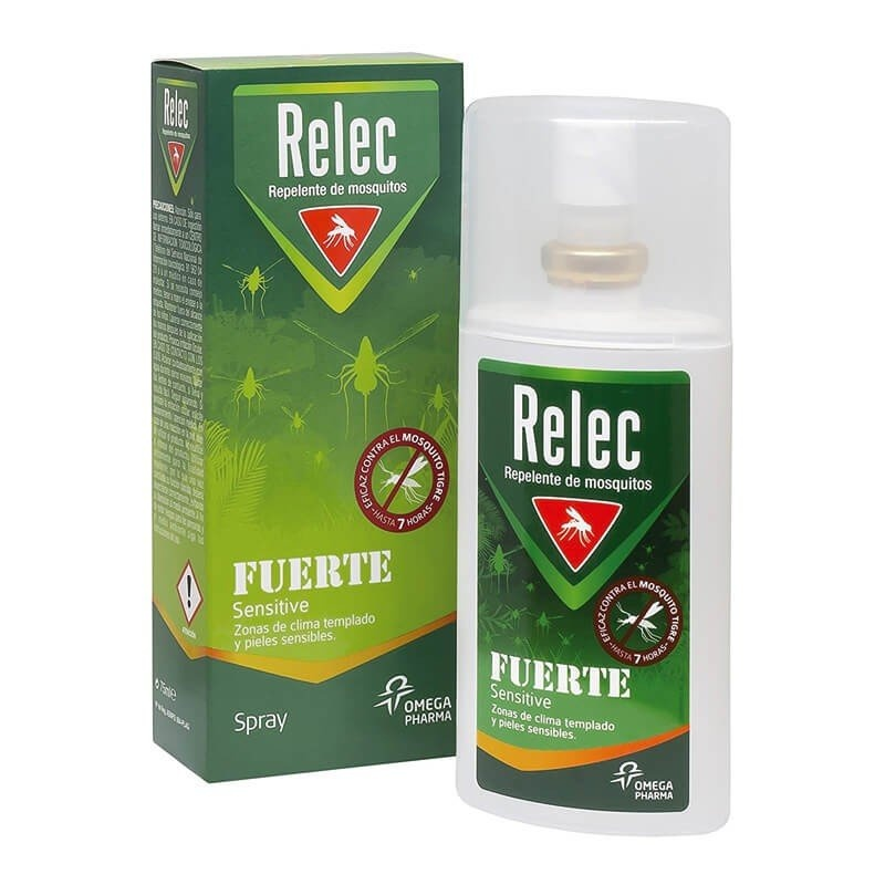 Relec Fuerte Sensitive 75ml