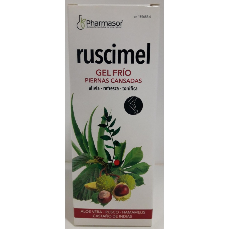 Ruscimel Pharmasor Gel Frío Piernas Cansadas 200ml