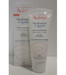 Avene Hydrance Optimale Enriquecida 40ml SPF20 +Micelar +Sérum