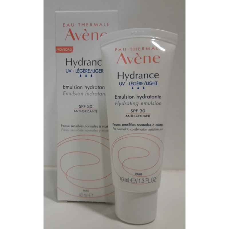 Avene Hydrance Optimale Ligera 40ml SPF20 +Micelar +Sérum