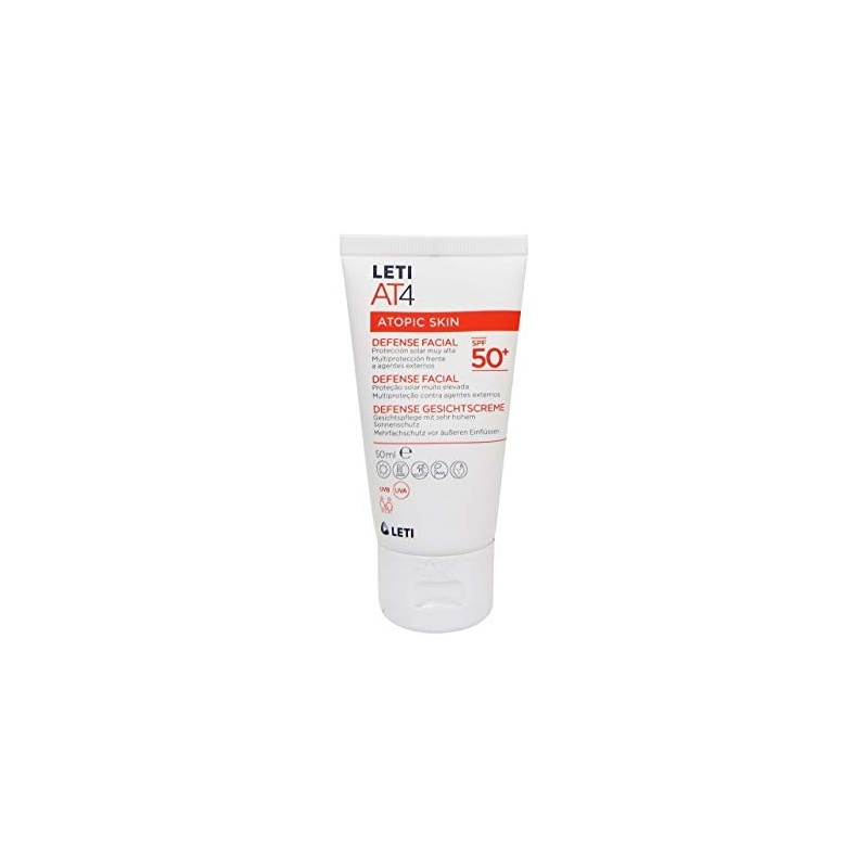 Leti AT4 Defense Facial SPF50+ 50ml