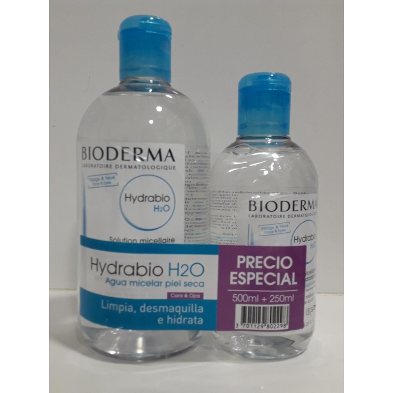 Hydrabio Pack Agua 500ml + 250ml de REGALO