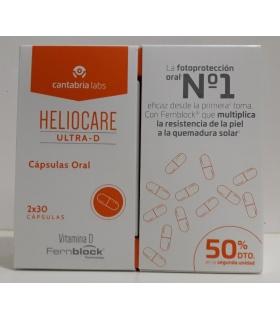 Duplo Heliocare Ultra D Cápsulas 50% segunda unidad