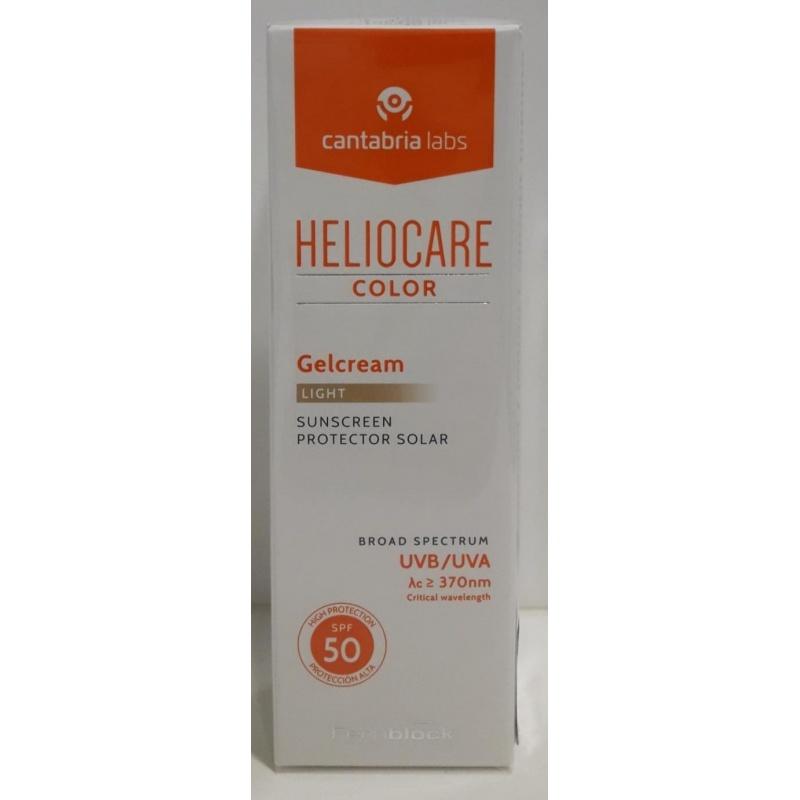 Heliocare Gel Crema Color Light SPF50+ 50ml