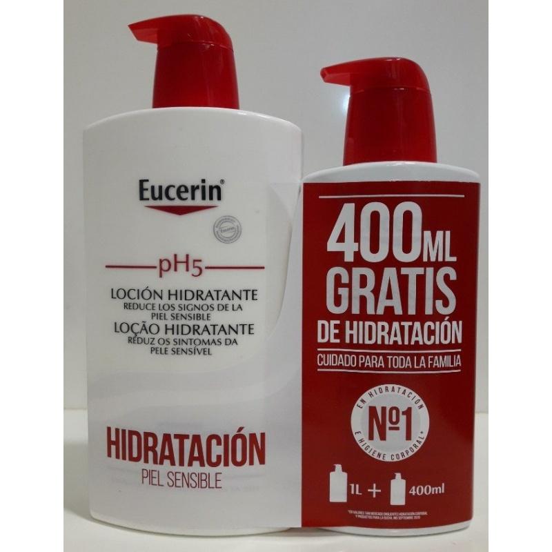 PH5 Eucerin Loción Skin Protection 1000ml+400ml