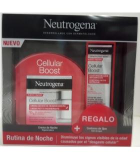 Neutrógena Cellular Boost Crema Antiedad Noche 50ml + Contorno