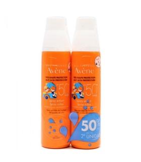 Duplo Avene Solar Spray Niños 50+ 200ml