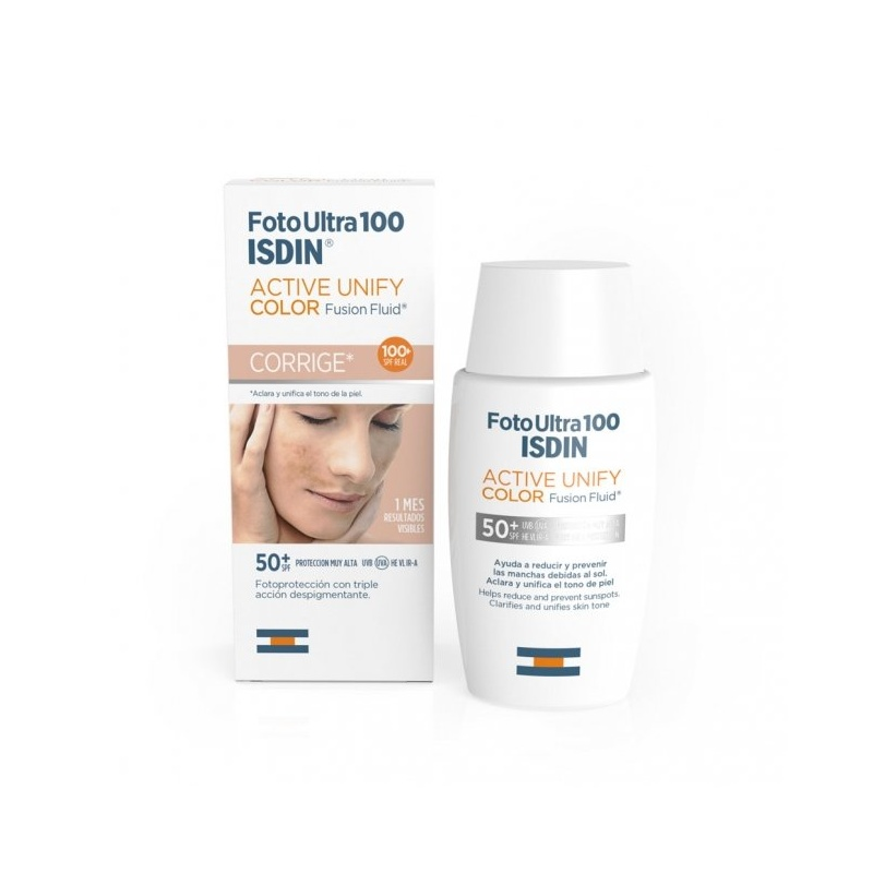 Isdin Fotoultra Active Unify Color 100+ 50ml