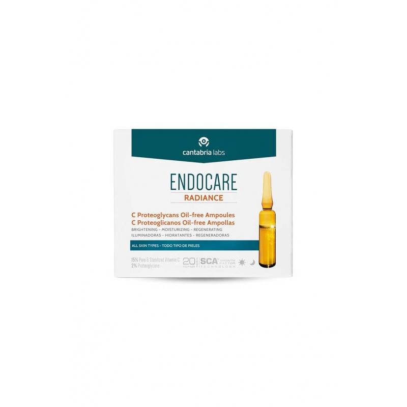 Endocare C Proteoglicanos Oil Free 30x2 Ampollas+Trataminto Piel Nueva