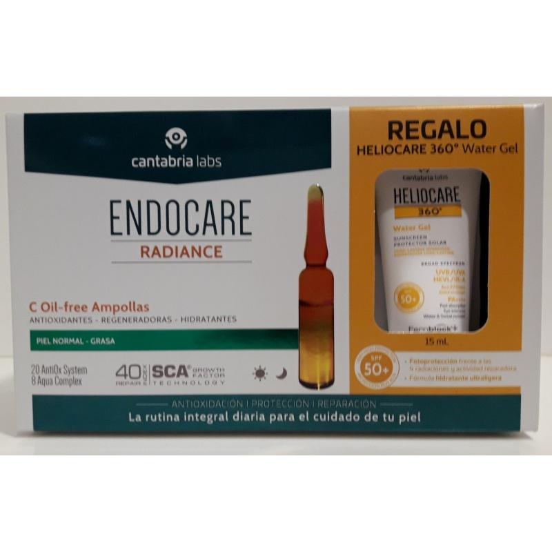 Endocare C Oil Free 30x2 Ampollas+Tratamiento Piel Nueva