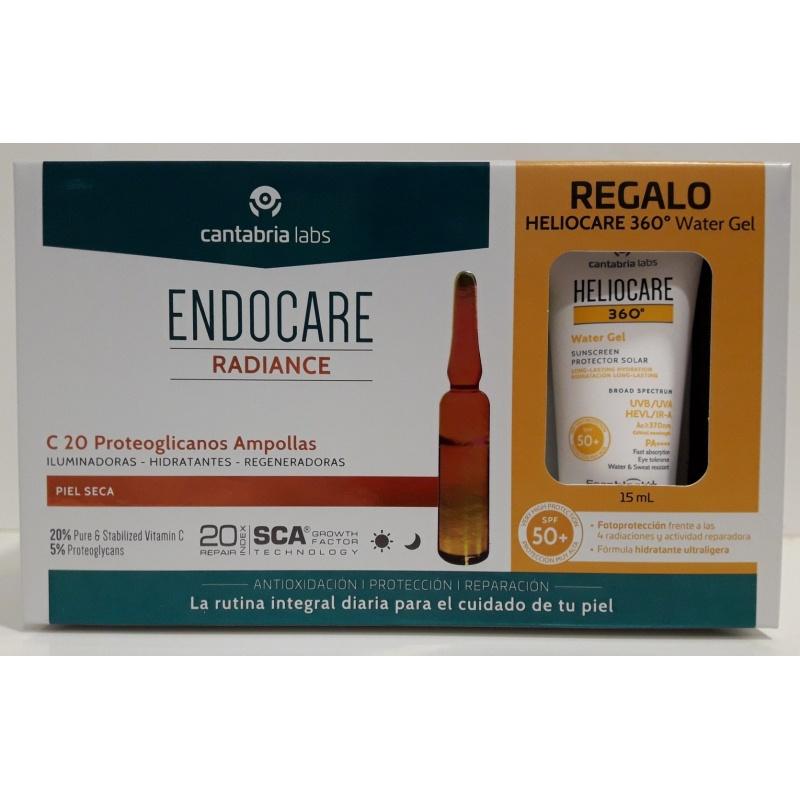 Endocare C20 Proteoglicanos 30x2ml Ampollas+Tratamiento Piel Nueva