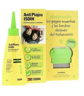 Antipiojos Isdin Gel Pediculicida 100ml + Lendrera