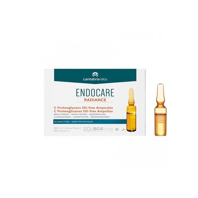Endocare Radiance C Proteoglicanos Oil Free 10x2ml Ampollas