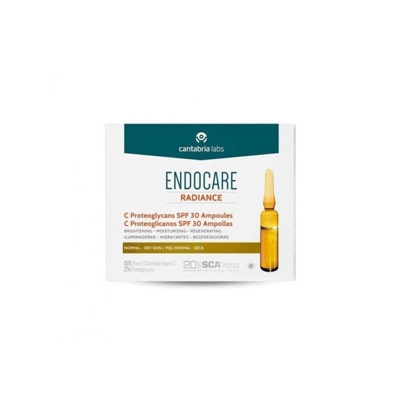 Endocare Radiance C Proteoglicanos SPF30 Ampollas 10x2ml