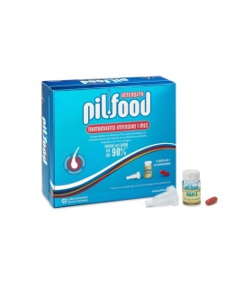 Pilfood Intensity Tratamiento 1 mes 15 Ampollas + 60 Comprimidos