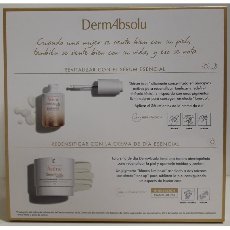 Avene DermAbsolu Estuche Sérum 30ml + Crema de Día 40ml