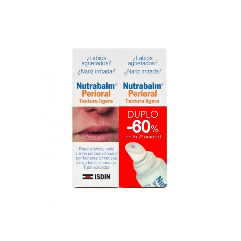 Duplo Nutrabalm Protector Labial Reparador Intensivo Tubo 10ml