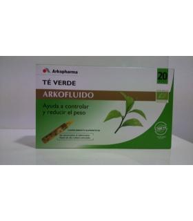 Arkofluido Té Verde 20 ampollas