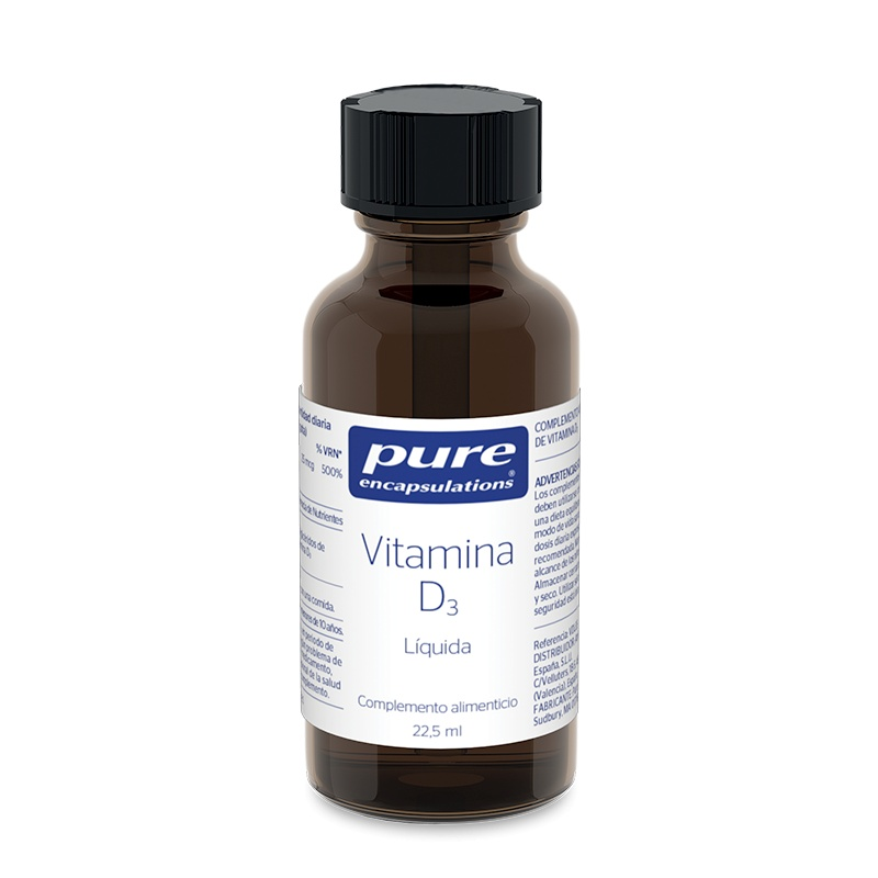 Pure Encapsulations Vitamina D3, 22.5ml