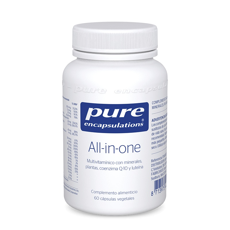 Pure Encapsulations All in One 60 Cápsulas