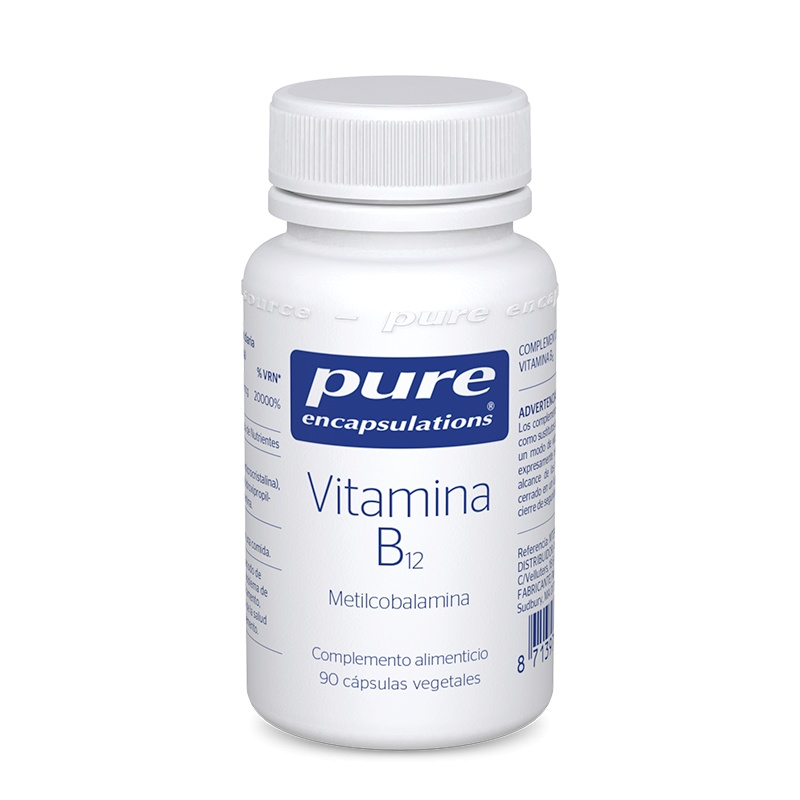 Pure Encapsulations Vitamina B12, 90 Cápsulas
