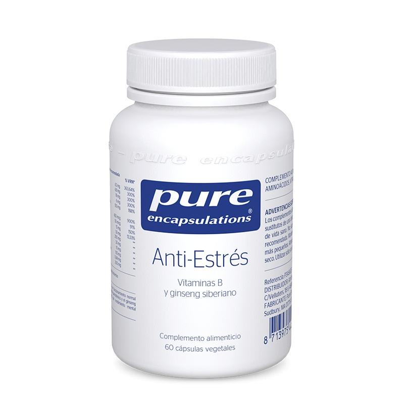 Pure Encapsulations Anti-Estrés 60 Cápsulas Vegetales.
