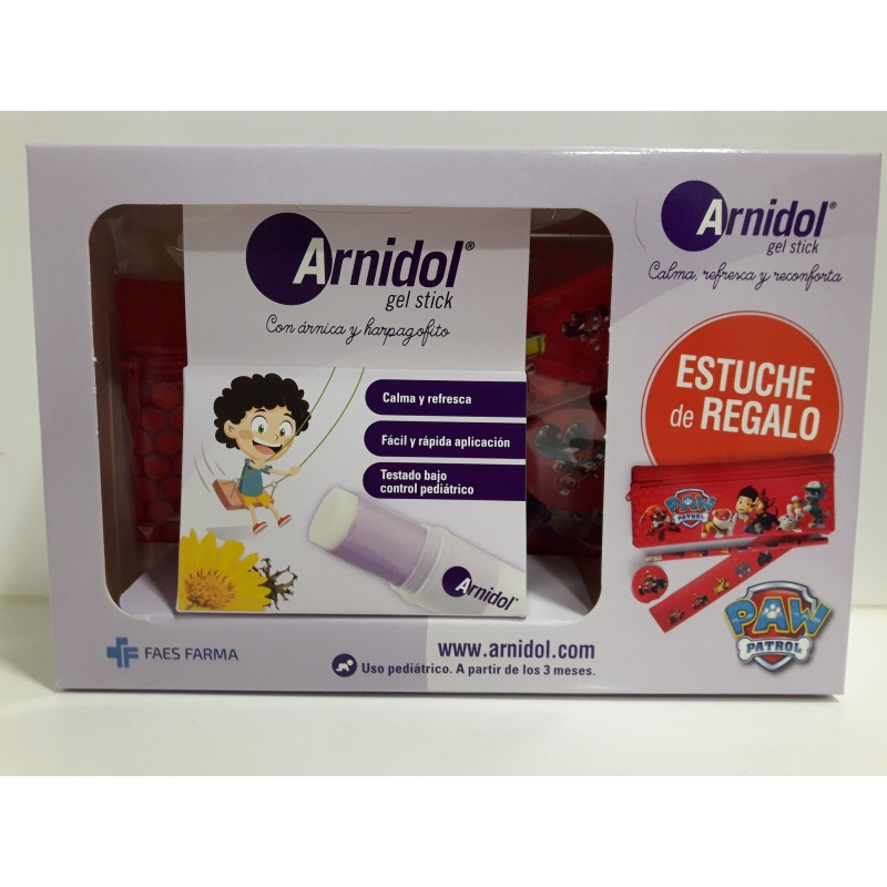 Arnidol Gel-Stick 15ml + Estuche Patrulla Canina