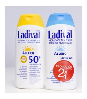 Ladival Allerg Gel-Crema 50 200ml + After Sun 200ml