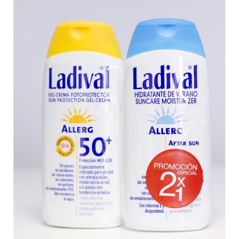 Ladival Allerg Gel-Crema 50 200ml + After Sun 200ml