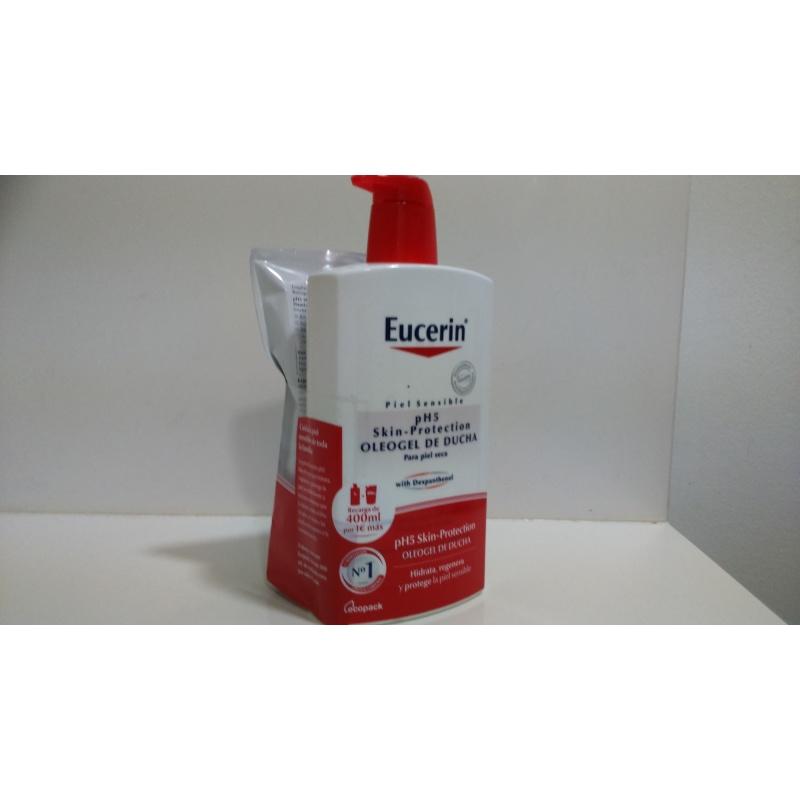 PH5 Eucerin Oleogel Ducha 1000ml+400ml