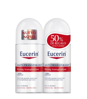 Duplo Eucerin Antitranspirante Roll-on 48h 50ml