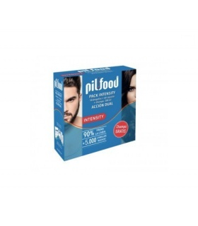 Pilfood Pack Intensity 60 cápsulas + 18 Ampollas + Champú