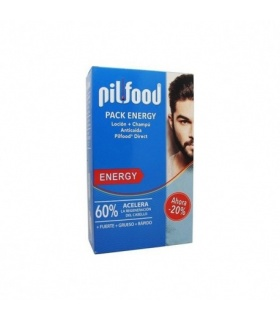 Pilfood Pack Energy Champú + Loción Anticaída