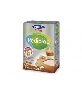 Papilla Pedialac 8 Cereales con Galletas 500gr