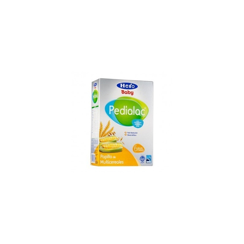 Papilla Pedialac Multicereales 500gr.
