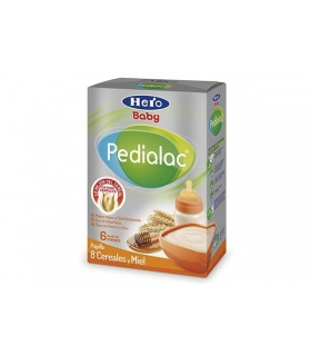 Papilla Pedialac 8 Cereales Miel 500gr
