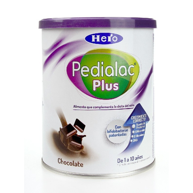 Pedilac Plus Chocolate Suplemento Nutricional 800gr.