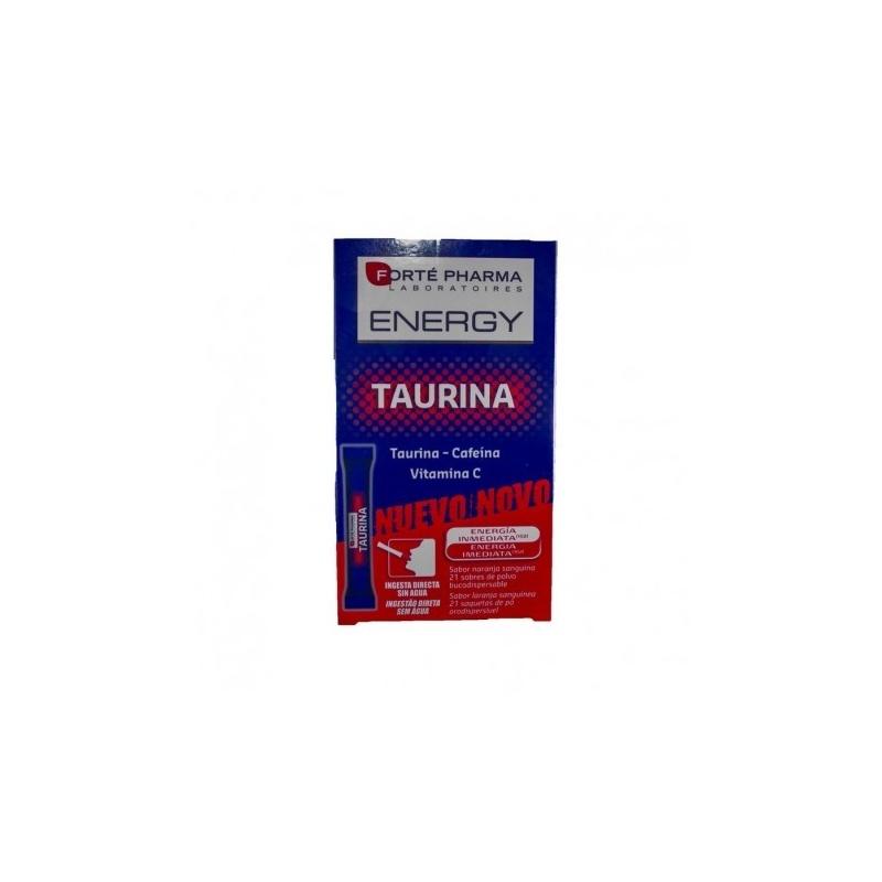 Energy Taurina 21 sobres bucodispersables